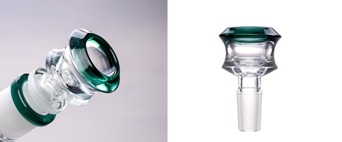 Stylish Thick Glass Bowl